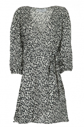 IRO |  Leopard printed dress Boina | black