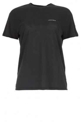 IRO |  T-shirt with logo print Loui | black