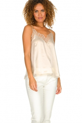 IRO |  Silk top Berwyn | natural