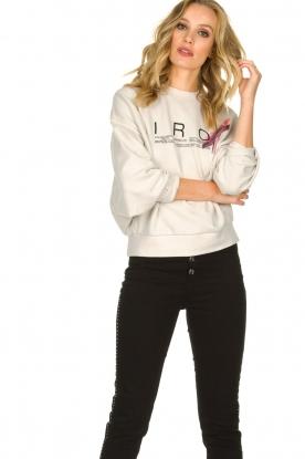 IRO |  Sweater with logo print Bigbo | natural