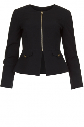 Kocca |  Tailored jacket Ponza | black