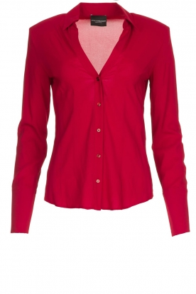 Atos Lombardini | Blouse Betty | red