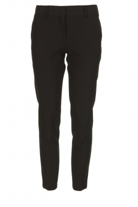 Atos Lombardini |  Classic trousers Rosy | black