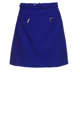 Atos Lombardini |  Skirt with zip details Zoella | blue