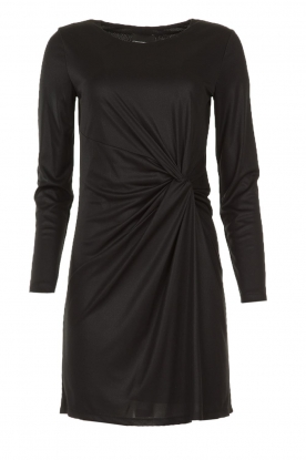 Atos Lombardini |  Dress with pleated details Karly | black