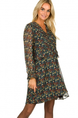 Freebird |  Floral dress Lexie | black