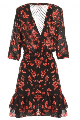 Freebird |  Floral dress Emily | black