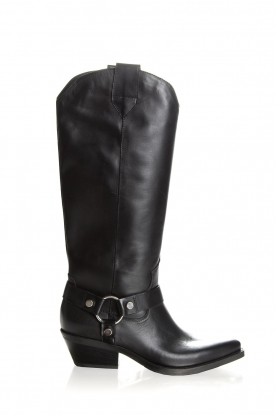Janet & Janet | Leather boots Amanda | black