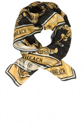 Silvian Heach | Scarf with tiger print Karruba | multi