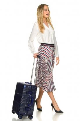 Silvian Heach | Hardcase suitcase Louise | blue