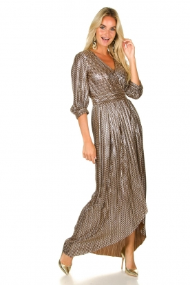 ba&sh |  Metallic maxi dress Pacey | metallic