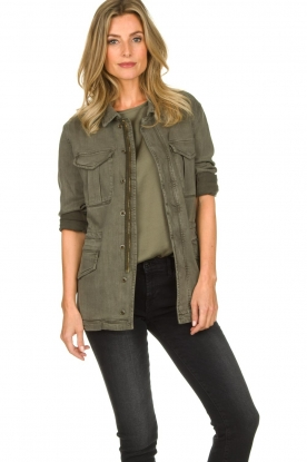 ba&sh | Jacket Bayron | green
