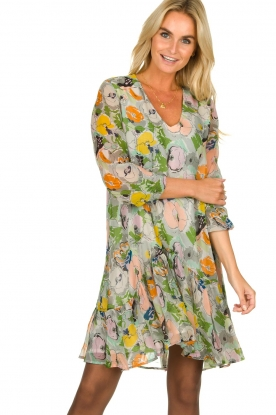 Essentiel Antwerp |  Floral dress Toriflower | multi