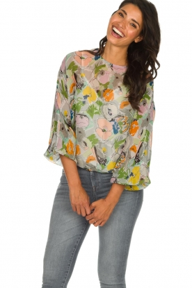 Essentiel Antwerp |  Floral top Tristory | multi