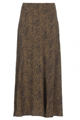 Essentiel Antwerp |  Leopard print maxi skirt  Tilde | Animal
