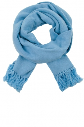 Essentiel Antwerp |  Big scarf Tupacco | blue