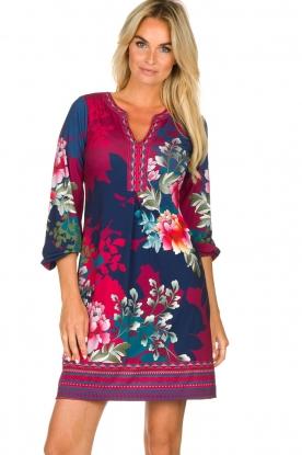 Hale Bob |  Floral dress Valentina | blue