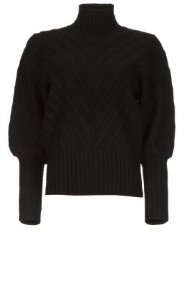 Silvian Heach |  Turtleneck sweater Tapajos | black