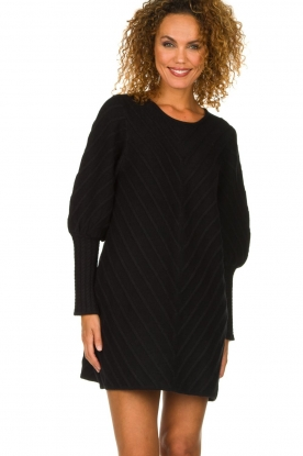 Silvian Heach | Long sweater Madeiraz | black