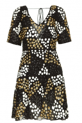 Antik Batik |  Embellished dress Andy | black