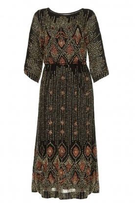Antik Batik |  Embellished dress Emilie | black