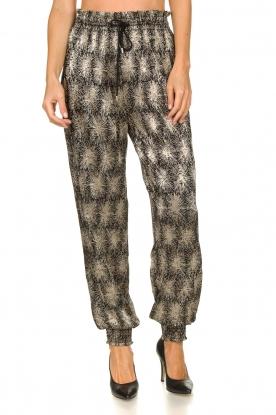 Antik Batik | Metallic pants Grace | metallic