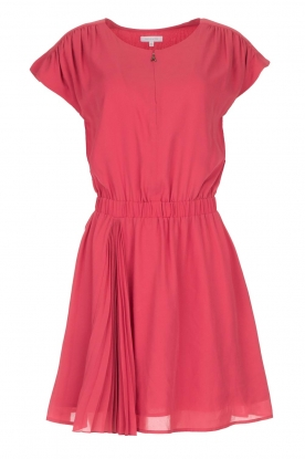 Patrizia Pepe |  Dress with elastic waist Sacha | pink