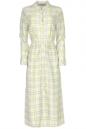 Patrizia Pepe |  Checkered midi dress Jamie | print