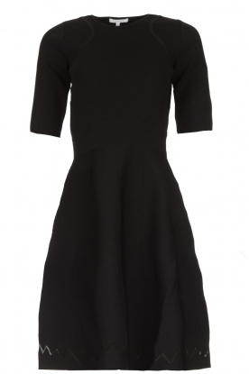 Patrizia Pepe |  Skater dress Rita | black