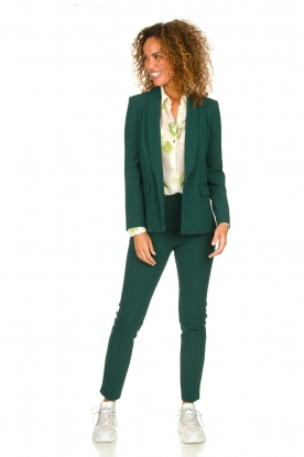 Patrizia Pepe |  Trousers with ceinture Bodine | green