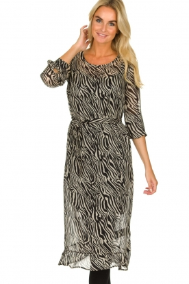 Set |  Zebra print dress Lotje | Animal