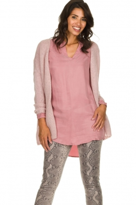 JC Sophie |  Knitted cardigan Angelique | pink