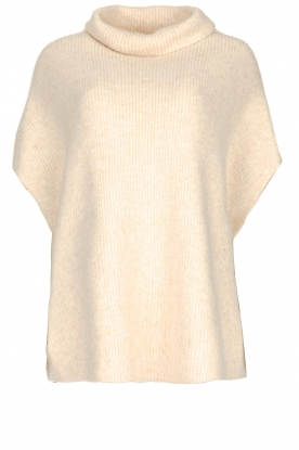 JC Sophie |  Oversized turtleneck sweater Amber | beige