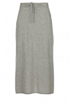 JC Sophie |  Midi skirt Annefleur | grey