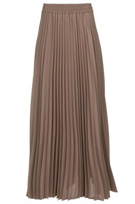JC Sophie |  Plisse maxi skirt Aminna | grey