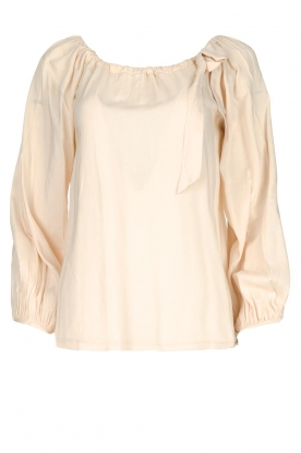 JC Sophie |  Off-shoulder top Atlanta | beige