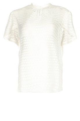 JC Sophie |  Lace top Ariane | white