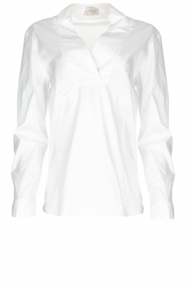 JC Sophie |  Stretch blouse Avery | white