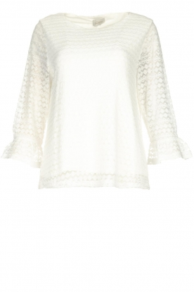 JC Sophie |  Lace top Anjali | white