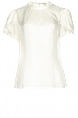 JC Sophie |  Silk top Angelica | white