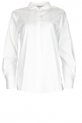 JC Sophie |  Classic stretch blouse Alice | white