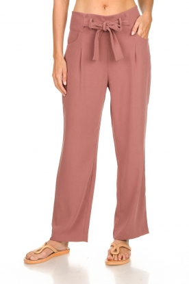 JC Sophie |  Trousers with ceinture Alessia | pink