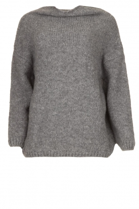Be Pure |  Turtle neck sweater Olivia | grey