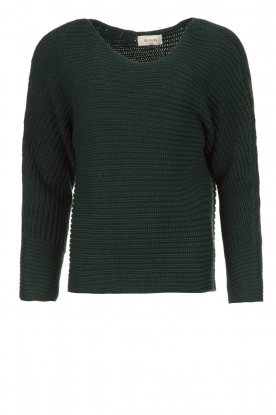 Be Pure | Knitted sweater Amanda | green
