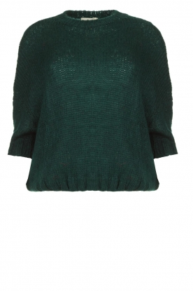 Be Pure |Knitted sweater Babette | green