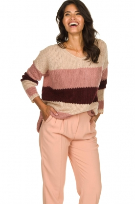 Be Pure | Knitted sweater Tamara | nude