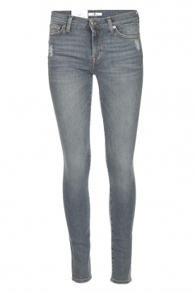 7 For All Mankind | Skinny jeans The Skinny | grijs
