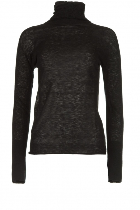 Patrizia Pepe |  Turtleneck sweater Mara | black