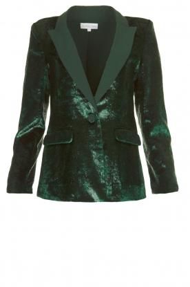 Patrizia Pepe | Velvet blazer Manita | groen
