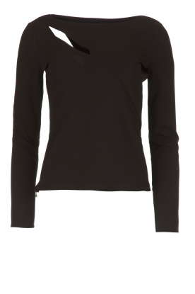 Patrizia Pepe | Top with cut-out detail Sterre | black